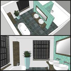 Image result for badkamer op zolder