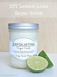 DIY Sugar Scrub Reci