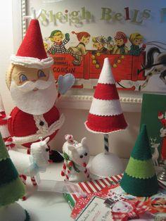 Felt Christmas decor