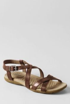 I love these sandals and have had them for the last few summers.  It's my flip-flop alternative.  Looks good with casual shorts and t-shirt or even with a sundress.   Decent sole and they have held up well.  They come in wide width which is super important for me.