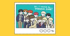 Kpop Drawings, Happy Pills, Ha Sungwoon, First Art, 3 In One, Chibi, Parks, Fan Art, Comics
