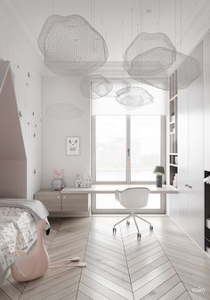 We all know how difficult it is to decorate a kids bedroom. A special place for any type of kid, this Shop The Look will get you all the kid's bedroom decor ide Small Room Bedroom, Bedroom Sets, Modern Bedroom, Bedroom Decor, Bedroom Lighting, Girls Bedroom, Bedroom Lamps, Wall Lamps, Small Rooms