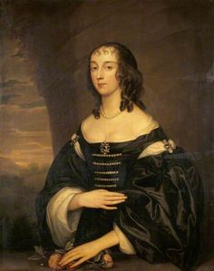 Ann Skory (d. before 1650), Mrs Chaloner Chute by Anthony van Dyck (style of)