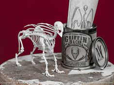 Griffin in a Can 3D Print Taxidermy by MythicArticulations on Etsy