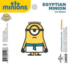 Egyptian Minion Sticker - 33010 $2.98