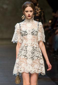Dolce and Gabbana f/w 2013
