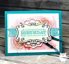 Good evening stampers! Several weeks ago while I was at OnStage I was able to check out some of the gorgeous new products from the upcomin...