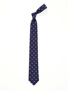 Silk Neat Floral Tie by Mr. Brown by Duckie Brown at Gilt
