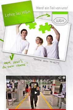 "WH Dentalwerk || Aufbau Facebook Tab ""Info- Tag der Lehre"" Facebook, Polaroid Film, Dental, Apps, App, Teeth, Tooth, Dental Health, Appliques"