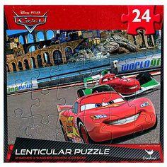 Disney Pixar Cars Lenticular Puzzle [24 Pieces]