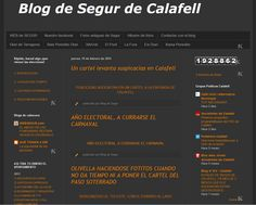 WEBSEGUR.com: EL BLOG DE SEGUR SIGUE DANDO GUERRA...