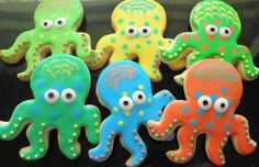 Hey, I found this really awesome Etsy listing at https://www.etsy.com/listing/128837988/octopus-cookie
