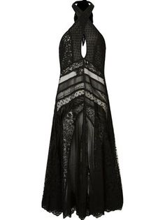 Helo Rocha - Vestido longo de renda - R$ 4.840,15