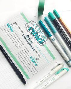 No hay descripción de la foto disponible. Bullet Journal School, Bullet Journal Notes, Bullet Journal Ideas Pages, Bullet Journal Inspiration, Organization Bullet Journal, Study Organization, Cute Notes, Pretty Notes, College Notes