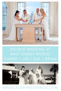 Double Wedding at Walt Disney World