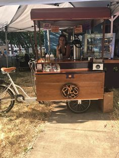 Remodeled coffee/food cart - e-bike mobile - perfect for coffee & pre-made food | eBay