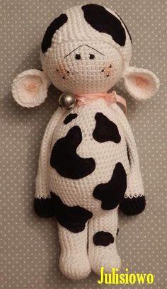 Crochet doll Muu.. by Julisiowo on Etsy