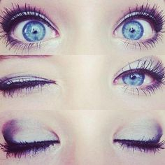 Blue eyes..:) #crazy