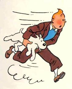Tintin and Milou/Snowy