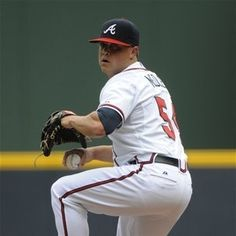 Atlanta Braves Kris Medlen #54 pitches during the first inning against the Colorado Rockies