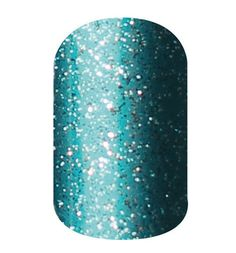 Teal Sparkle  nail wraps by Jamberry Nails http://www.denice.jamberrynails.net/
