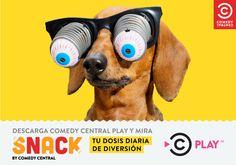Una dosis diaria de humor con Snack by Comedy Central – Estereofonica