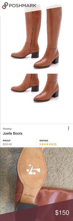 NWT Joelle Sam Edelman camel boots Never worn. Camel tall boots. Butter soft leather Sam Edelman Shoes Winter & Rain Boots