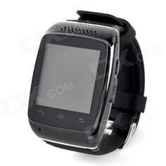 "ZGPAX S12 Bluetooth V3.0 Sports Smart Watch w/ 1.54"" Screen, Sync Android Phone, Pedometer - Black"
