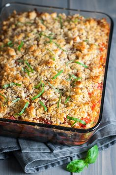 Layered Italian eggplant gratin to make the most of summer produce