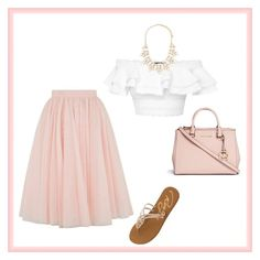 """""""Untitled #190"""" by skylarisdance ❤ liked on Polyvore featuring Ted Baker, Alexander McQueen, Roxy, Michael Kors and Forever 21"""