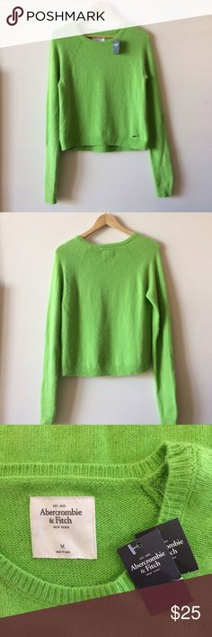 NWT Abercrombie & Fitch Sweater New with tags's, Super Soft Rabbit hair/ Nylon blend Abercrombie and Fitch sweater. Lightweight and perfect for spring. Abercrombie & Fitch Sweaters