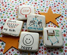 The Cookie Puzzle: Cue Card Cookies by Suzy Social Worker