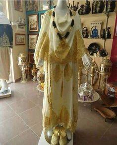 Algerian Fashion; Chaoui dress