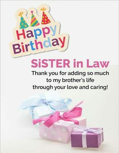 Birthday wishes for sister in law images birthday wishes free happy birthday sister in law graphics yahoo image search results m4hsunfo