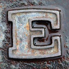 letter E- Leo Reynolds Alphabet Mosaics