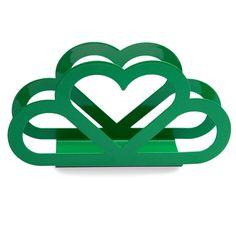 Porta Guardanapo Coração - Verde | iBacana