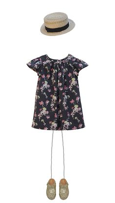 Bonpoint Summer 2016 - Cherry Blossom #Bonpoint #girl #kidsfashion