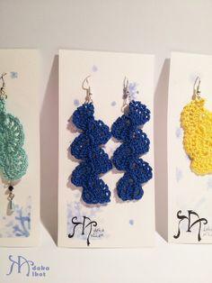 adakaalkot.blogspot.com www.facebook.com/adakaalkot  Adaka alkot (HU) crochet waves , jewelery , earrings horgolt hullámok, ékszerek, fülbevalók