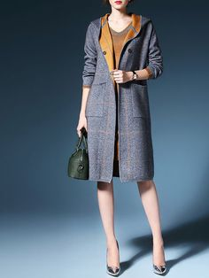 Buttoned cashmere coat...where this right into spring 2016 and it's so unique and pretty you can wear it in the fall as well. A great buy for 2016