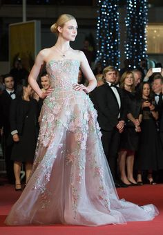 Elle Fanning's stunning Cannes dress doubled as her prom dress