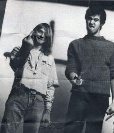Nirvana - Kurt Cobain & Krist Novoselic