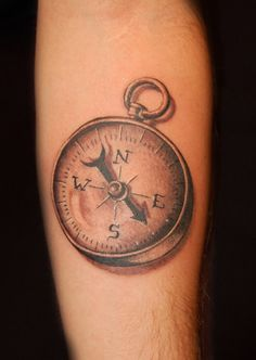 Vintage Compass Tattoo | Compass by Chris Saint Clark