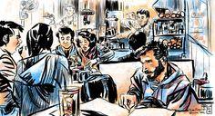 Sketching Hong Kong on an iPad: the Work of Rob Sketcherman