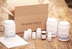 The Goop Cleanse-one I want to love and may try....