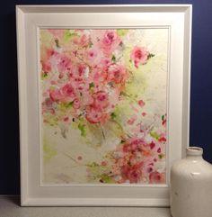MioDesigns. New encaustic wax art! Blossom