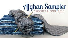 The Inspired Wren: Square 7! Crochet Along Afghan Sampler (July)