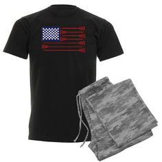 Lacrosse AmericasGame Men's Dark Pajamas...from YouGotThat.com the largest lacrosse gift and apparel shop around.