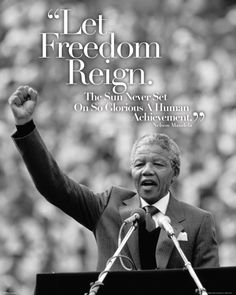 Nelson Mandela - Speach - Official Mini Poster
