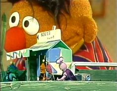 Sesame Street Twiddlebugs-- I loved them as a kid, have to make a twiddle bug home with the girls