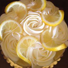 Lemon curd cake from Petite Reve Ventura, Ca. This cake was amazing ...